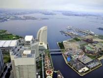 Thăm thành phố cảng Yokohama khi mua vé máy bay đi Nhật.