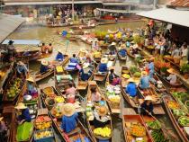 Tìm hiểu đời sống người dân Thái với chợ nổi Damnoen Saduak