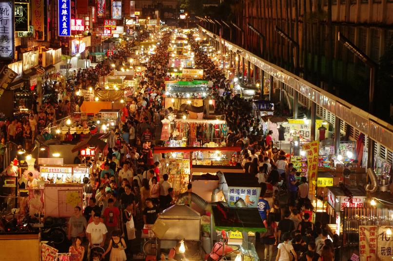 Chợ đêm chương trình du lịch Đài Loan 5 ngày