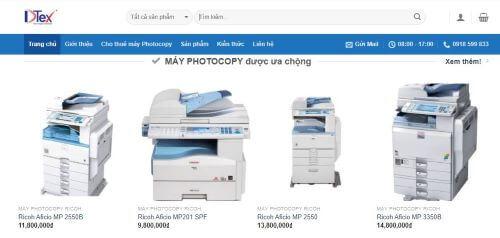 Giá thuê cập nhật thường xuyên trên website