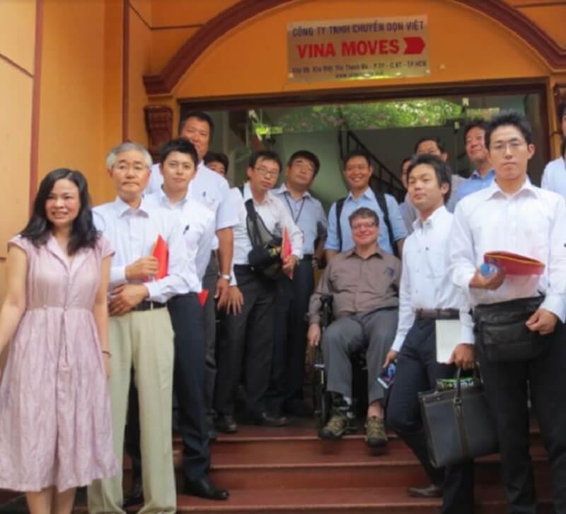 Đội ngũ lãnh đạo của Vinamoves